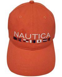 Nautica Adjustable Logo Hat Cap - Arancione