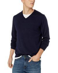 Goodthreads - Marca Amazon – – Jersey de lana merino con cuello en V para - Lyst
