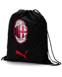 PUMA AC Milan Pro Training Turnbeutel Black- Black UA - Schwarz