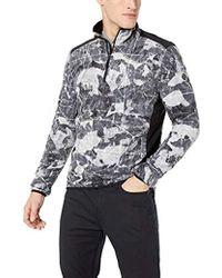 Quiksilver Aker Hz Fleece Jacket - Black