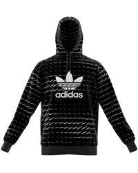 adidas Mono Hoody Sweatshirt - Negro