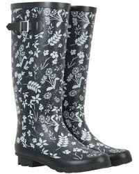 Mountain Warehouse Waterproof Ladies Wellington - Grey