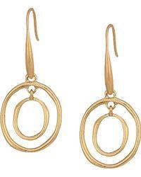 The Sak - Mini Metal Orbit Drop Earrings - Lyst