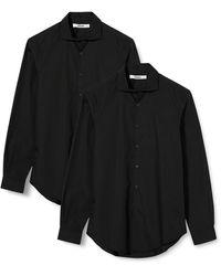 HIKARO Hik0024am Formal/business Shirts - Black