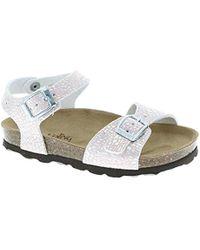 2d243292b23 Girl Sandals - Metallic
