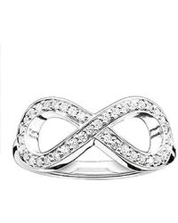 Thomas Sabo - Bague Infinity Bague Argent Sterling 925 TR2014-051-14 - Lyst