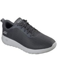 Skechers Herren Go Walk Max-54601 Low-top, Grau (Charcoal), 50 EU