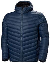 Helly Hansen Verglas Hooded Down Insulator Jacket - Blue