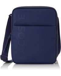 Lacoste Homme NH3135PO L.12.Concept Cabas et pochette Bleu