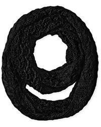 Nine West - Chunky Zig Zag Knit Infinity - Lyst