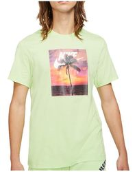 Nike Spring Break Photo T-Shirt - Grün