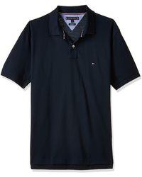 Tommy Hilfiger CORE Tommy Regular Polo Poloshirt - Blau
