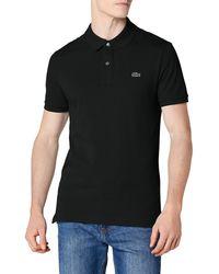 Lacoste Herren Sport, Poloshirt L1230, Schwarz (Noir), 4X-Large