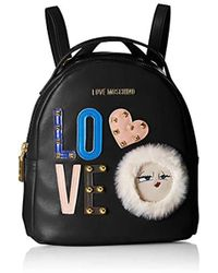 Love Moschino - Borsa Pu Backpack Handbag - Lyst