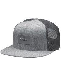 Nixon Cap Team Trucker Cap - Grey