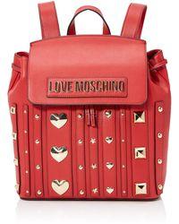 Love Moschino Borsa Pu - Red