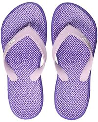 detailed look 33747 a98a4 Wmns Solay Thong Print Low-top Slippers - Purple