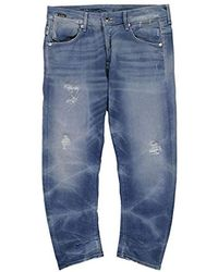 G-Star RAW A Crotch 3d Loose Tapered Jeans - Blue