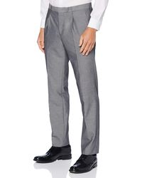 FIND Pantalón Ajustado de Traje - Gris