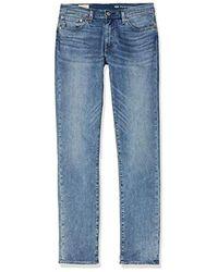 Levi's Männer 511 Slim Fit geschnittene Jeans - Blau