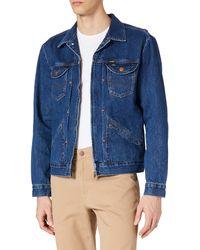 Wrangler Jacket Giacca in Denim - Blu