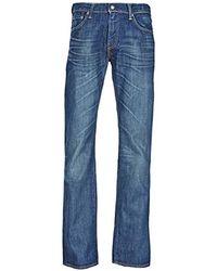 Levi's Herren 527 Low-Boot Cut Bootcut Jeans - Blau
