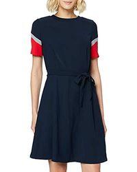 Tommy Hilfiger New Jillian Dress Ss - Blue