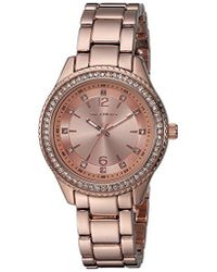 Skechers - Quartz Metal And Alloy Casual Watch, Color Rose Gold-tone (model: Sr6123) - Lyst