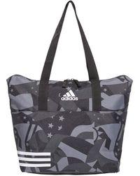 adidas 3-stripes Training Tote Bag Fashion Daily Training Gym - Black