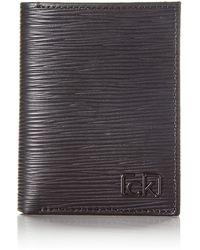 Calvin Klein Ck Signature Ep Mini 6cc W/Coin Geldbörse - Schwarz