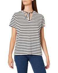 FIND Stripe Tie-neck - Black