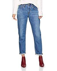 Levi's 501 Taper Jeans Dritti Donna - Blu