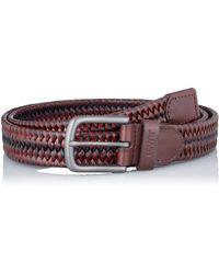 Levi's Woven Leather Stretch Belt Ceinture - Noir