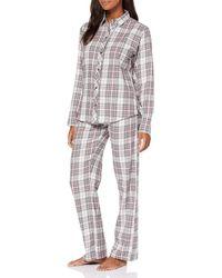 Esprit Filipa CAS NW pj.a.ls_ll Zweiteiliger Schlafanzug - Weiß