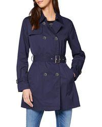 Geox W Airell F Coat - Blue