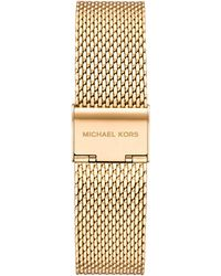 Michael Kors - Lexington None Watch with Stainless Steel Strap - Lyst