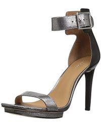 f888d732f16 Lyst - Calvin Klein Women s Vable Sandals in Black