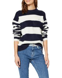 Tommy Hilfiger Tjw Bold Stripe Crew Sweater Sudadera - Azul