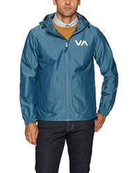 RVCA Steep Sport Jacket - Blue