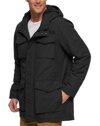 Levi's Arctic Cloth Sherpa Lined Field Parka Jacket - Noir