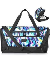 Skechers Sports Duffel Bag 40l With Shoes Compartment - Black