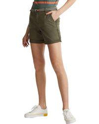 Esprit 030EE1C305 Pantalones Cortos - Verde