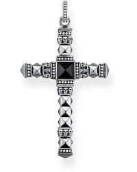 Thomas Sabo Men Silver Pendant - Pe775-698-11 - Metallic