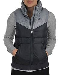 Nike S Down Fill Padded Gilet - Grey