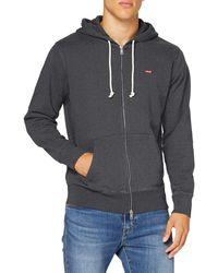 Levi's Zip Up Sweatshirt - Grey