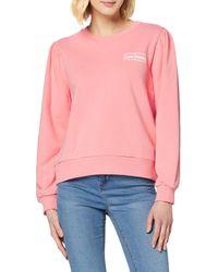 Lee Jeans Graphic Sweatshirt Felpa - Rosa