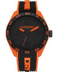 Superdry - S Analogique Quartz Montre avec Bracelet en Silicone SYG213B - Lyst