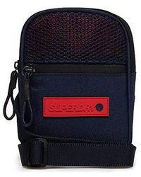 Superdry Sport Pouch Navy - Blue