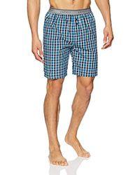 Esprit Aaron Nw Bermuda Bas De Pyjama Homme - Bleu