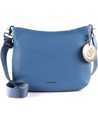 Mandarina Duck - Mellow Leather Crossover Moonlight Blue - Lyst